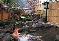 [写真]季節には蛍の姿も見られる「姫ホタルの湯」