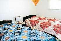 客室によって異なるベットカバー