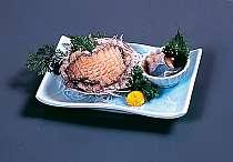 地元で水揚げされたあわびを刺身でお召し上がりください!