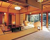 【TVCM起用客室】静かで優雅な離れ『清月』☆【離れ和室、源泉かけ流し内風呂付き、夕朝食はお部屋で】