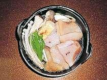 メカジキマグロのすき焼き