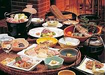 アップグレード和会席プラン『山川の恵みを贅沢に愉しむ♪』お料理満喫コース≪2食付き≫