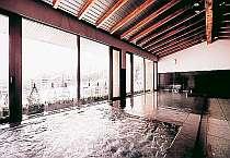 最上階の展望温泉大浴場