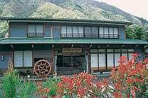 奥飛騨の中心エリアに建つ宿