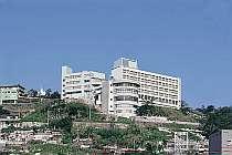 [写真]立山から長崎市街地を見下ろす立地にある