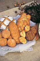 毎朝手作りのパンは国内産小麦を使ったヘルシーパン