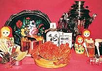 [写真]ロシア料理や地酒、カニ、手作り漢方酒!色々楽しめる。