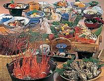 「伊勢えびプラン」の料理例