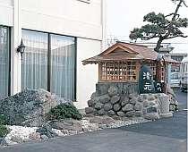 函館・湯の川の格安ホテル湯元 入川