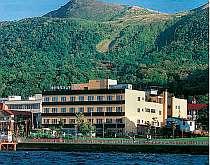全室湖水に面し、中島・羊蹄山を一望出来ます。