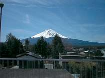 富士山側の客室からの眺望