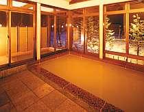 天然の硫黄温泉が堪能できる「みはらしの湯」