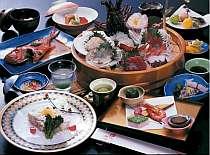 プリプリ伊勢海老のお造り&キンメの煮付けが人気☆海鮮食材の饗宴♪【磯会席プラン】