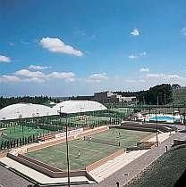 【週末限定】《3月~11月》◆◆ウイークエンドカジュアル◆◆ 1泊2食付テニスプラン