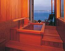 露天風呂付客室で、ゆったりと贅沢な湯浴みを満喫!イメージ