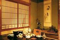 和室の食事処