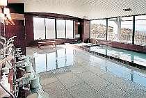 女性温泉大浴場にはセリシン風呂あり