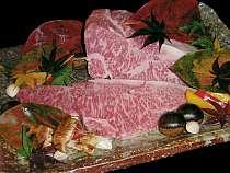 冬は飛騨牛のステーキもいただける