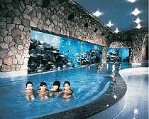 姉妹ホテル・サンハトヤの海底温泉 千石風呂も無料利用可