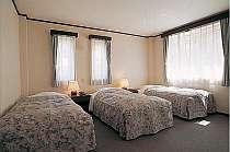 広々とした洋室5人部屋