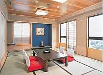 ファミリー・グループに人気の和室10畳間。