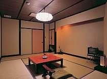 客室の一例。人数に応じて部屋タイプはいろいろ
