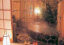 【お部屋】客室露天風呂 一例
