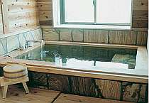 天草石使用の「花水季」の内風呂
