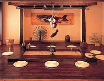 和食処「仙食庵」の囲炉裏席は1日限定10名限定(相席)。是非早めの予約を!!