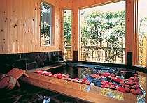 バラ風呂の小さなホテル 花彩亭