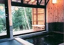 広々ゆったりしたお風呂からの眺めも最高