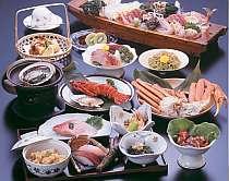 季節の和会席料理はお部屋でどうぞ