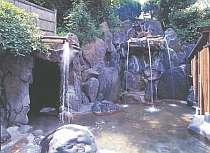 洞窟風呂や蒸し風呂、うたせ湯等が楽しめる