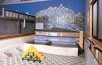 ノスタルジックな雰囲気の浴室