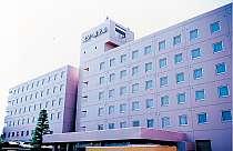 郡山の中心地に構えるホテル