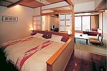 「寛のフロアー」の客室は10畳&モダンツインベット付き