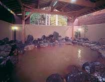 [写真]大浴場の露天風呂