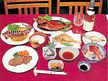 地魚料理やステーキ等全9品 ボリュームいっぱい