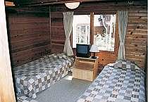 清潔感あふれる室内。屋根裏部屋も人気