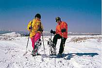 高い標高でのスキーは、眺めも良く気分は最高!!