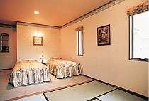 客室一例・和洋室。全室上品な趣のやすらぎ空間