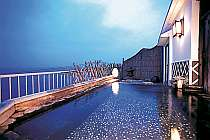 *【海一望☆露天風呂】月夜に海風を感じながらの温泉は格別です!