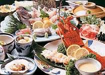 [写真]海幸グルメが堪能できる会席料理