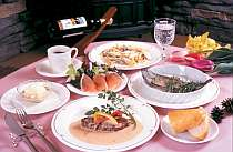 地元信州産の採りたて野菜やハーブ等を使い女性やご年配の方にもやさしい日替わりのイタリアンコース料理