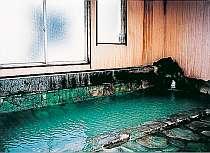 ざぶざぶ温泉が掛け流しされているお風呂