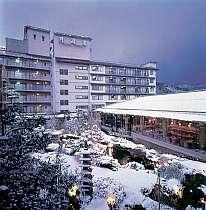 雪見景色も楽しめる湯村温泉に佇む湯宿