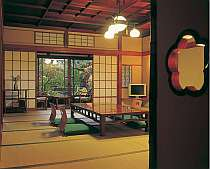 渓流側客室(一例)『早川』 和室+次の間+トイレ+洗面所付き