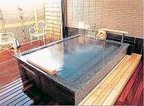 しまなみ産の大島石を使用した貸切風呂