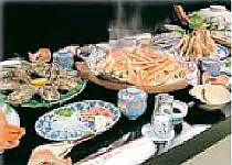 [写真]冬の海の幸満喫 カニ料理(例)