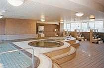 サウナもある大浴場